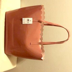 Kate Spade Carrigan Lily Avenue patent tote